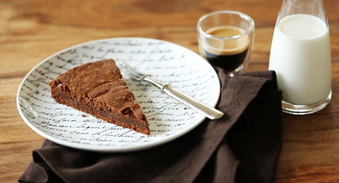 Französischer Schokoladenkuchen