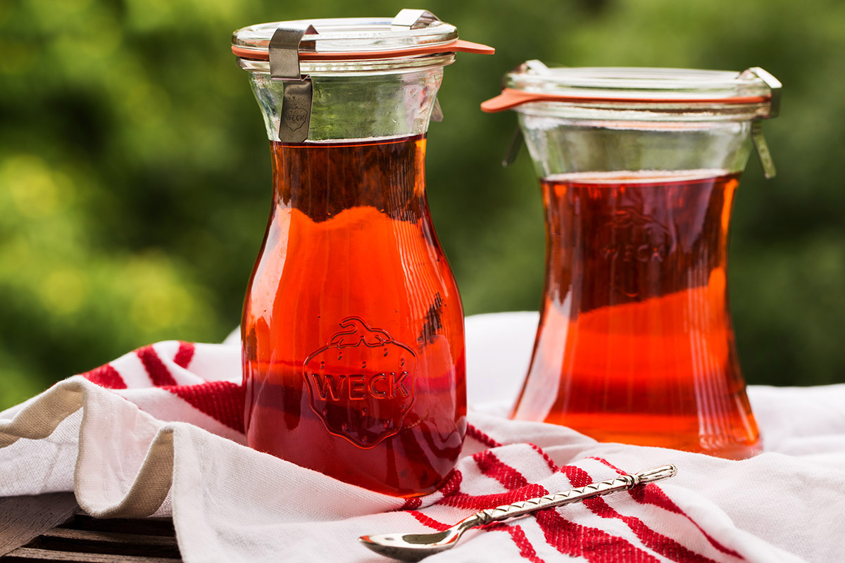 Erdbeer-Honig-Essig