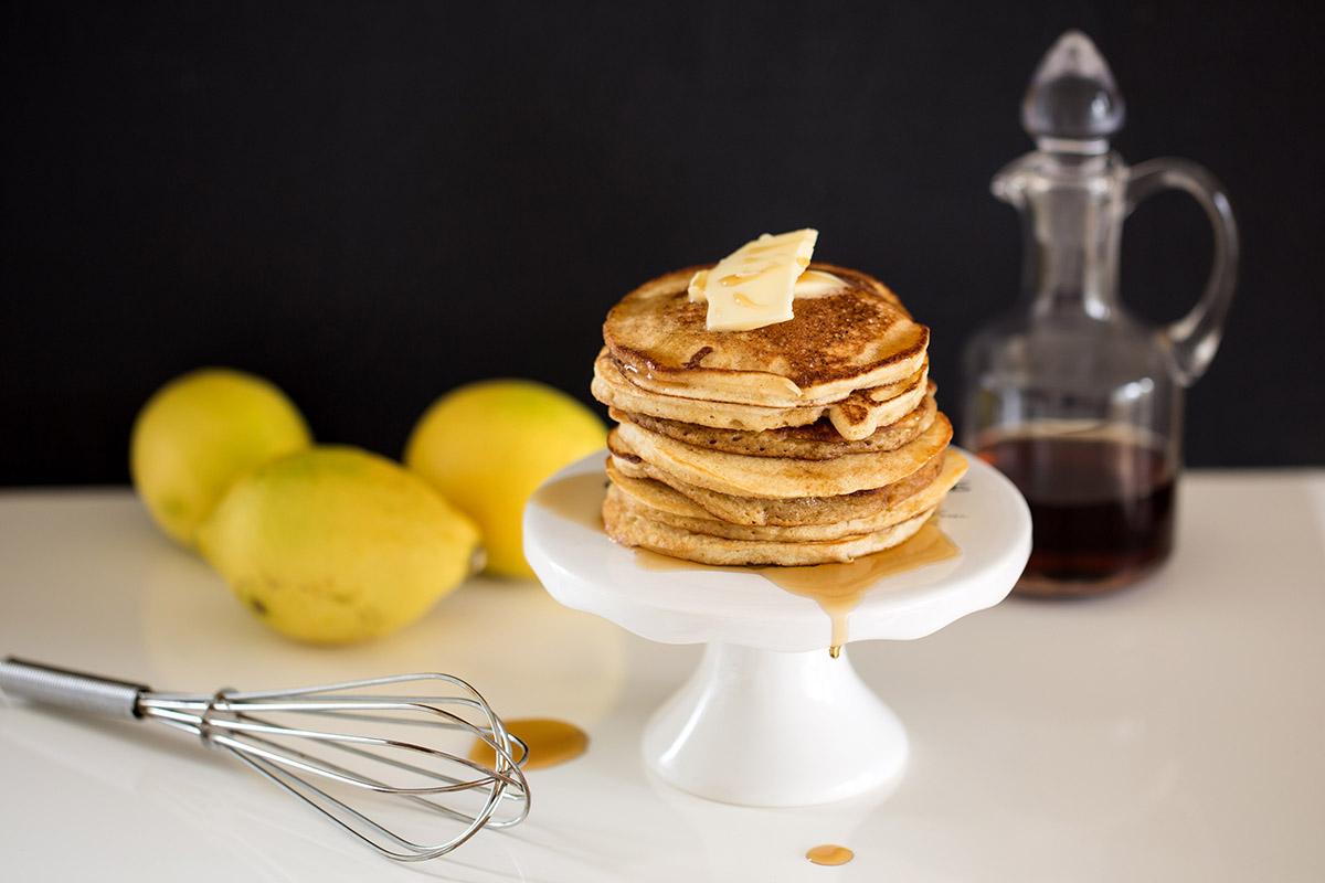 Zitronen-Ricotta-Pancakes