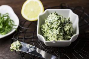 Bärlauch-Zitronen-Butter