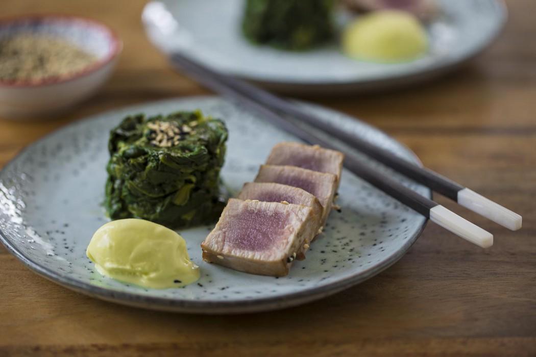 Tataki vom Thunfisch
