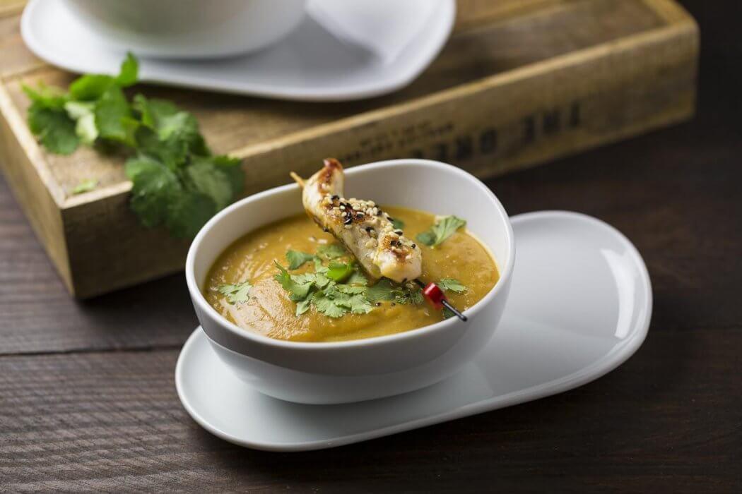 Karotten Koriander Suppe