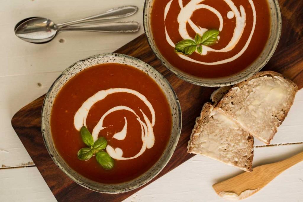 Tomatensuppe mit Sherry