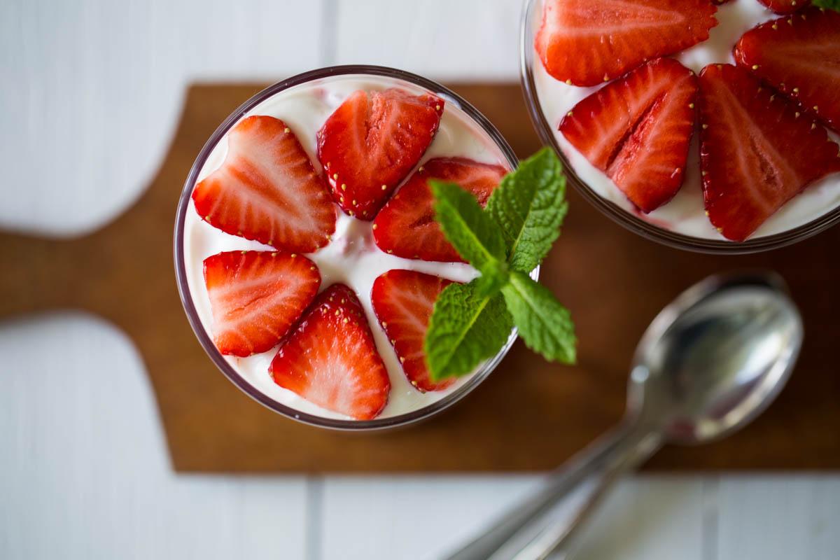 Erdbeertrifle