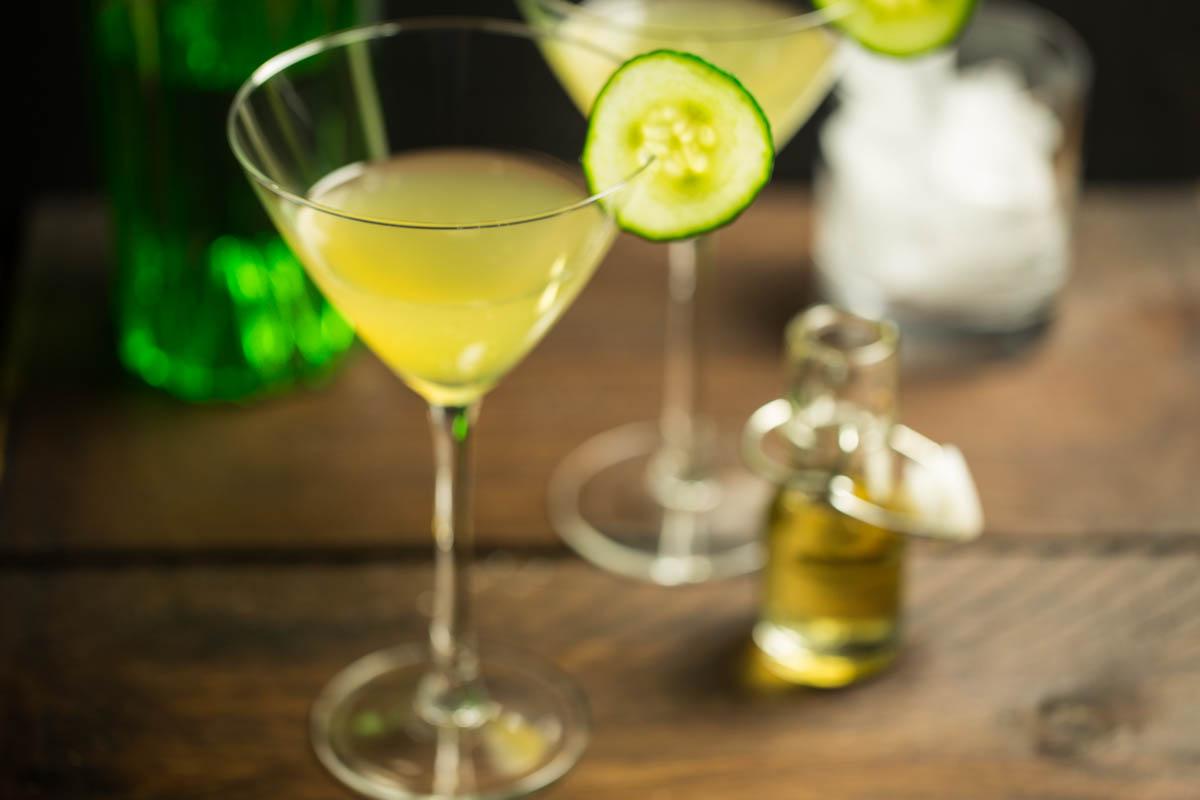 Gin Garden Martini