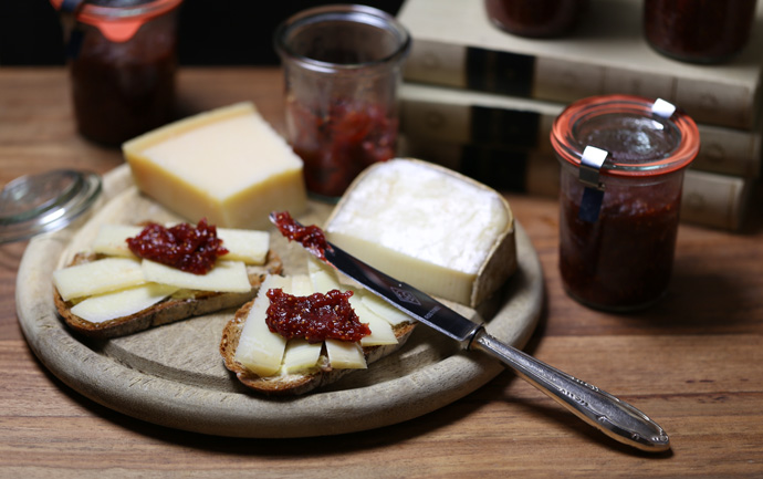 Feigen-Senf-Marmelade