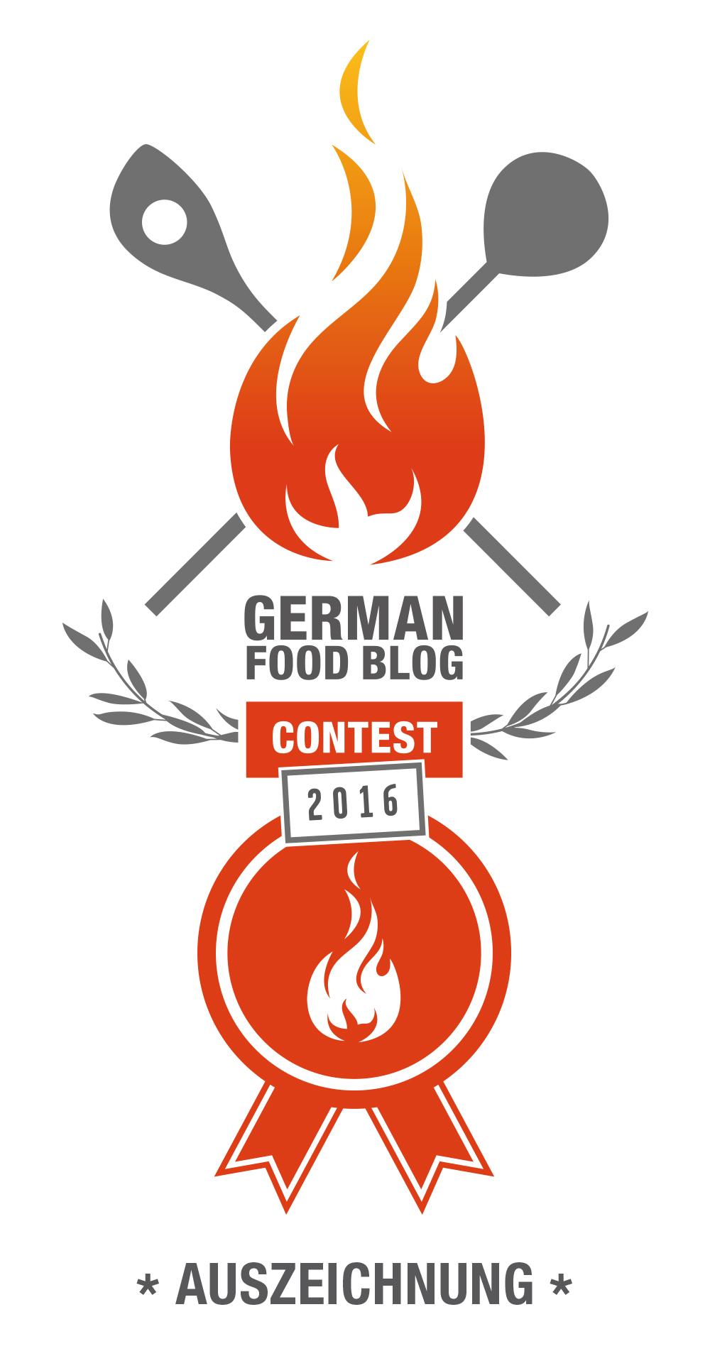 German Food Blog Contest
