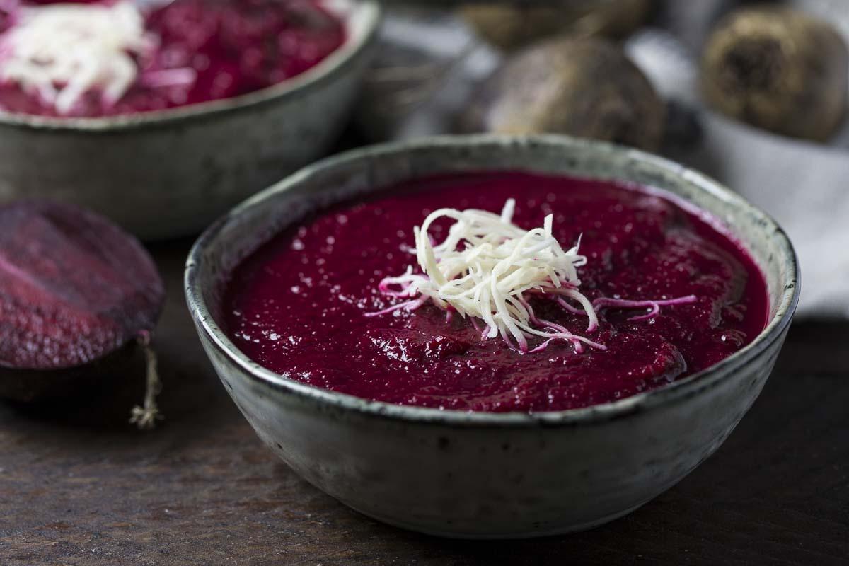 Rote-Bete-Suppe mit Meerrettich-4