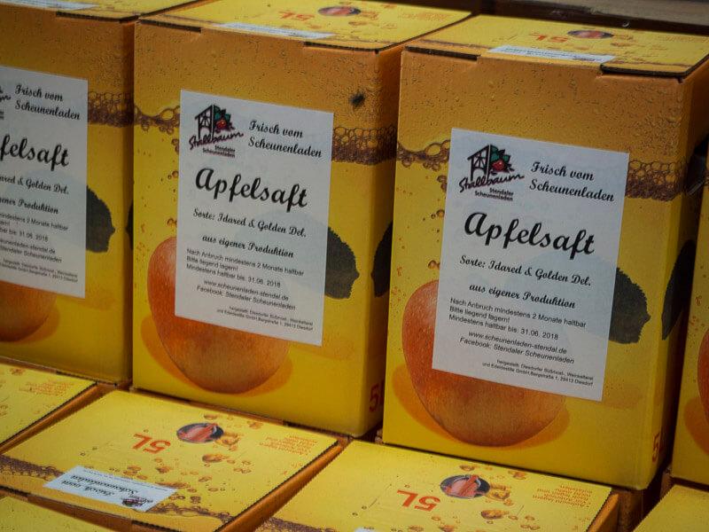 Apfelsaft Stallbaum