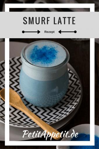 Smurf Latte Pinterest