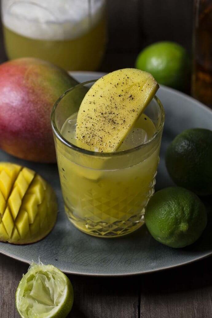Mango Pepper Cocktail