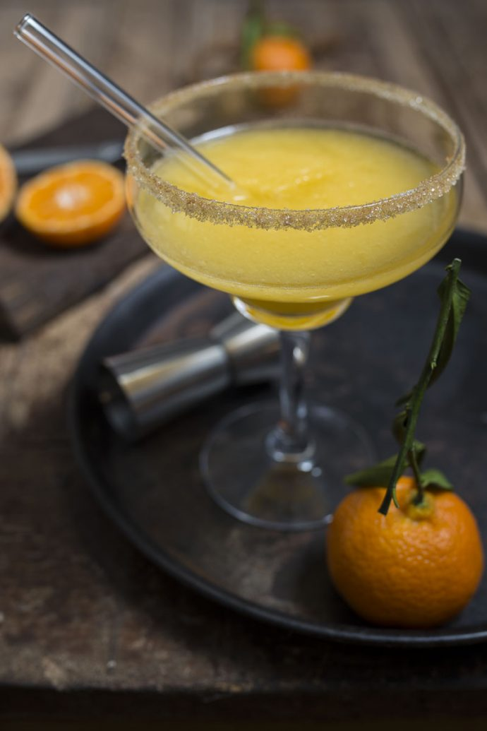 Margarita mit Mandarinensaft